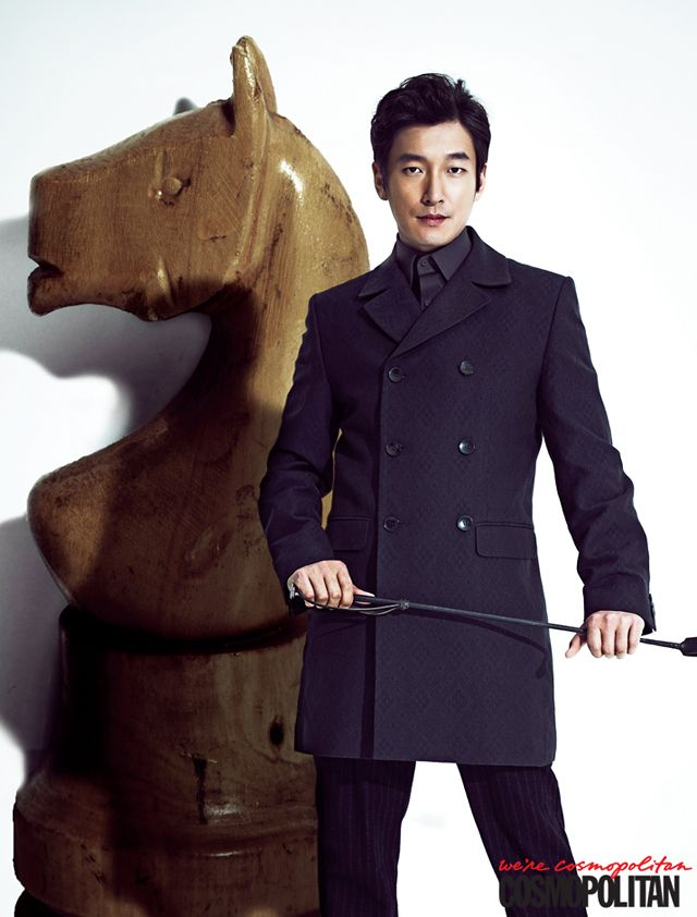 Horse Doctor's Jo Seung Woo For Cosmopolitan Korea + Additional Spreads Of Goo Hye Sun « Couch Kimchi