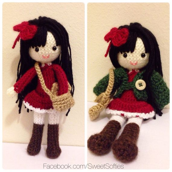 Crochet Pattern Human Doll : 78 Best images about Amigurumi & Crochet on Pinterest ...