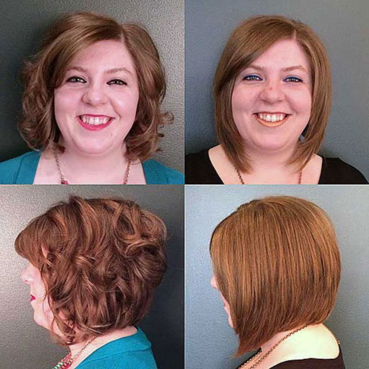 40 Stylish And Sassy Bobs For Round Faces In 2020 Frisuren Rundes Gesicht Bob Frisuren Rundes Gesicht Rundes Gesicht