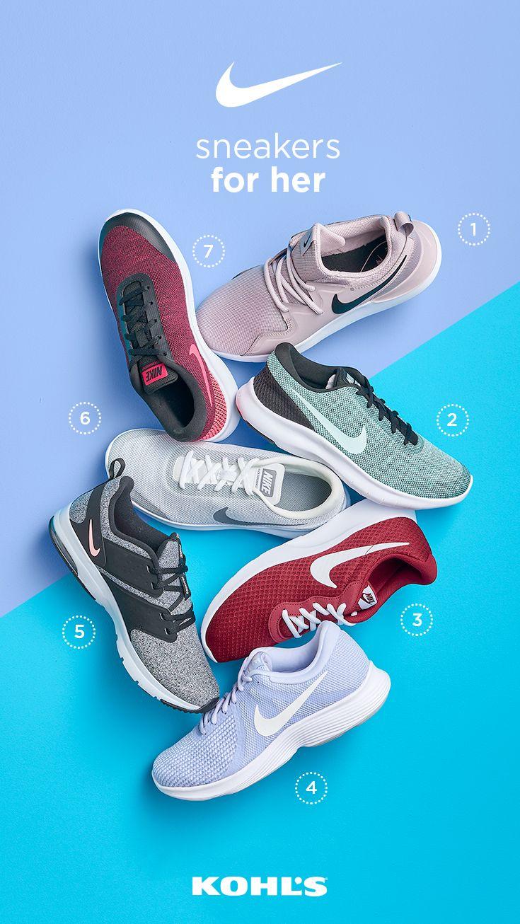 nike tennis shoes kohls