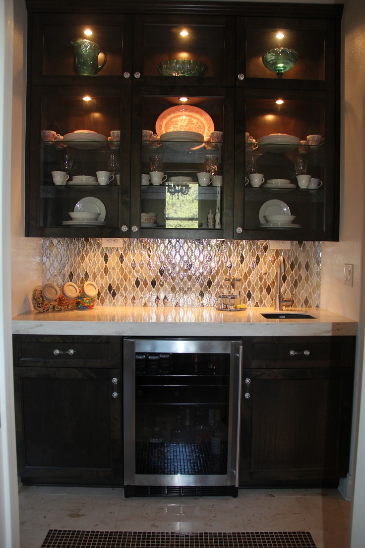 Small butler 39 s pantry idea dream house pinterest for Convert kitchen desk to pantry