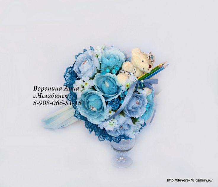 Gallery.ru / Букетики для первоклашек. - Букеты из игрушек в Челябинске. - Deydre-78