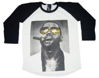 Kanye West Shirt Kanye West Tshirt Hip Hop Rapper Baseball Shirt,