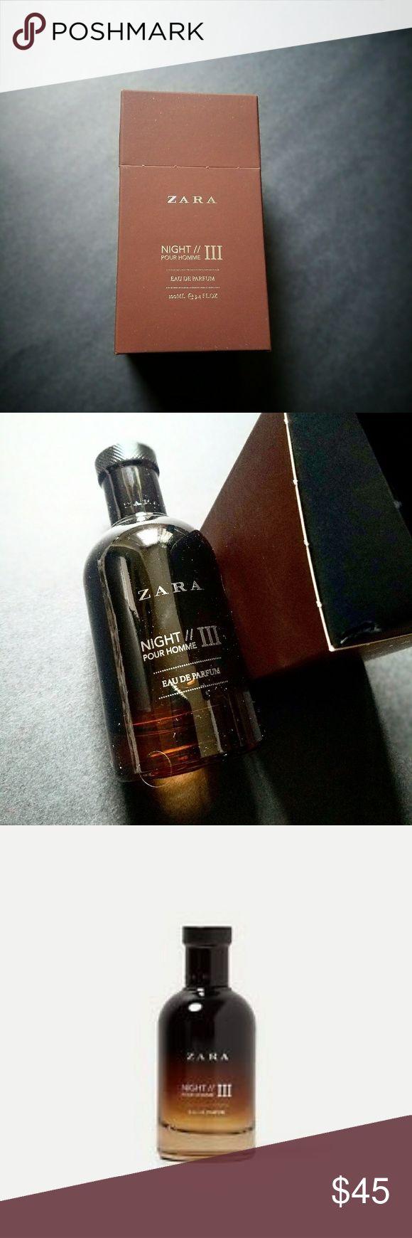 ZARA NIGH POUR HOMME // EAU DE PARFUM ZARA Man Eau de Parfum Night pour Home III 100ml/3.4 fl Oz Zara Other