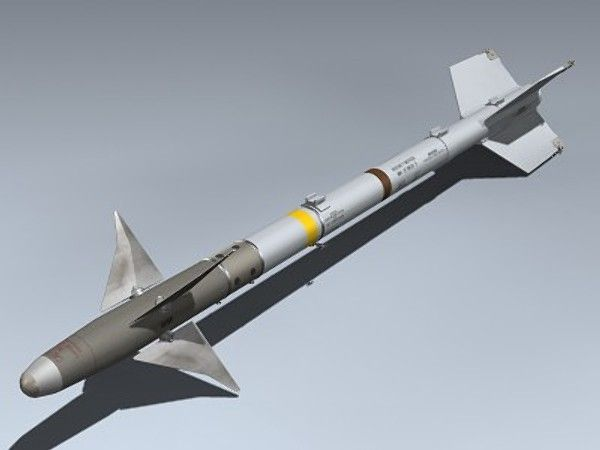 The AIM-9 Sidewinder is an infrared homing, short-range, air-to-air missile carried mostly by fighter aircraft and recently, certain gunship helicopters. The missile entered service with the United States Navy in the mid-1950s, and variants and upgrades remain in active service with many air forces after five decades. The United States Air Force purchased the Sidewinder after the missile was developed by the United States Navy at China Lake, California