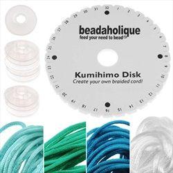 Kumihimo Braiding Kit 'Ocean Mix' Starter Kit