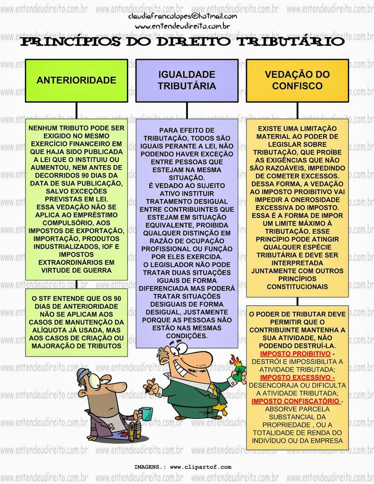 ENTENDEU DIREITO OU QUER QUE DESENHE ???: PRINCÍPIOS TRIBUTÁRIOS