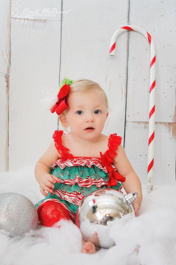 mameluco del cordón del bebé La primera Navidad