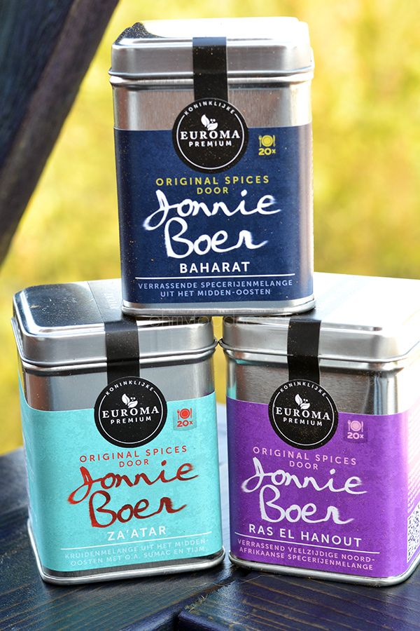 Original Spices van Jonnie Boer