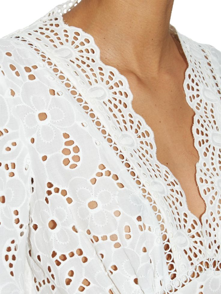 Hyper Eyelet broderie-anglaise top | Zimmermann | MATCHESFASHION.COM UK