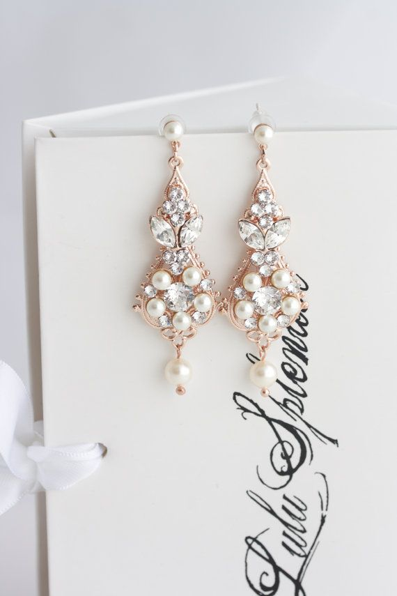 Or rose boucles d