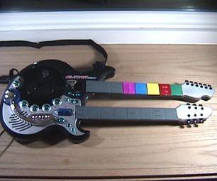 Easier Guitar Hero Clone Controller!