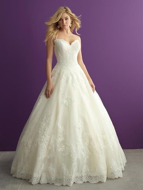 Igen Szalon Allure Bridals wedding dress- AB2959  #igenszalon #AllureBridals #weddingdress #bridalgown #eskuvoiruha #menyasszonyiruha #eskuvo #menyasszony #Budapest