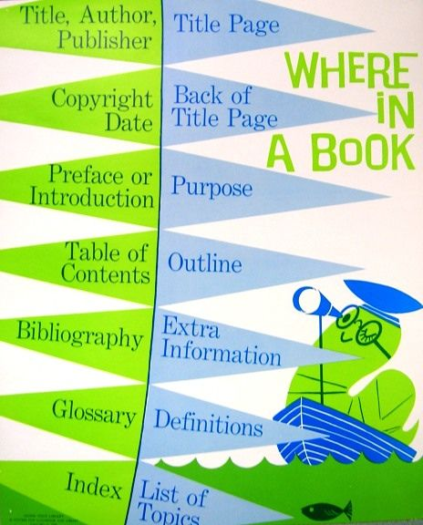 RETRO POSTER - Where in a Book by Enokson, via Flickr