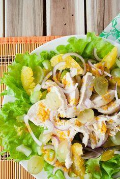 Салат с куриной грудкой и сельдереем | Диетические низкокалорийные рецепты - блюда правильного питания на Dietplan.ru