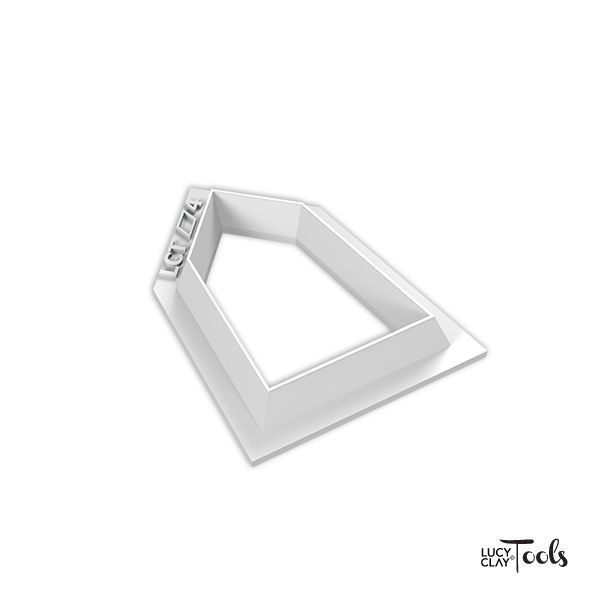 LC Cutter 1513 (Polygon 4) | Order at LC Store EU http://www.lucyclaystore.com/en/lc-cutters/254-lc-cutter.html LC Store USA http://www.lucyclaystore.com/usa/lc-cutters/254-lc-cutter.html | Inspiration http://issuu.com/lctools/docs/cutters-pentagons