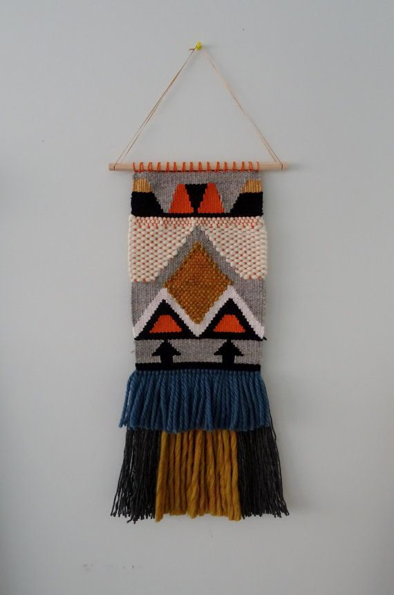 Woven Tapestry Wall Hanging by racheljOK on Etsy, $155.00