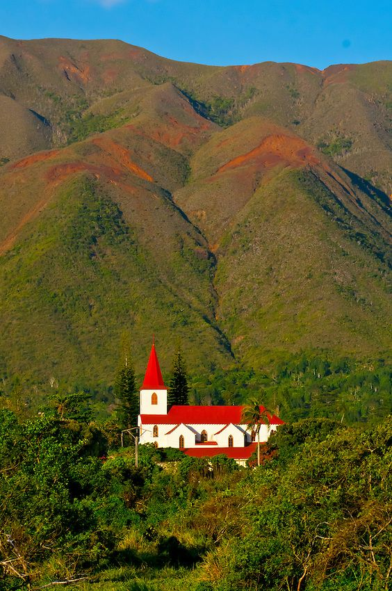 Mission de Saint-Louis, Mont-Dore, Grand Terre, New Caledonia