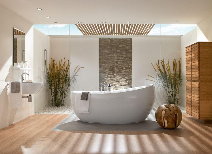Villeroy and Boch Aveo Freestanding Quaryl Bath
