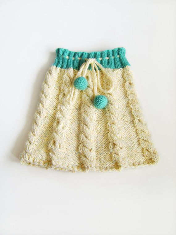 Knitting Skirt For Baby : Best images about knit dresses for little girls on