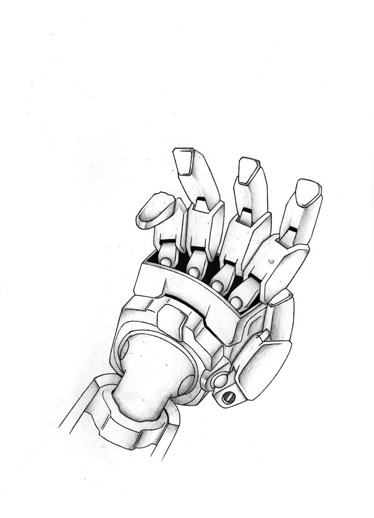 "23.	Jerry He, Grade 12, ""The Masturbating Hand?"", marker pencil on paper, 12""x9"""