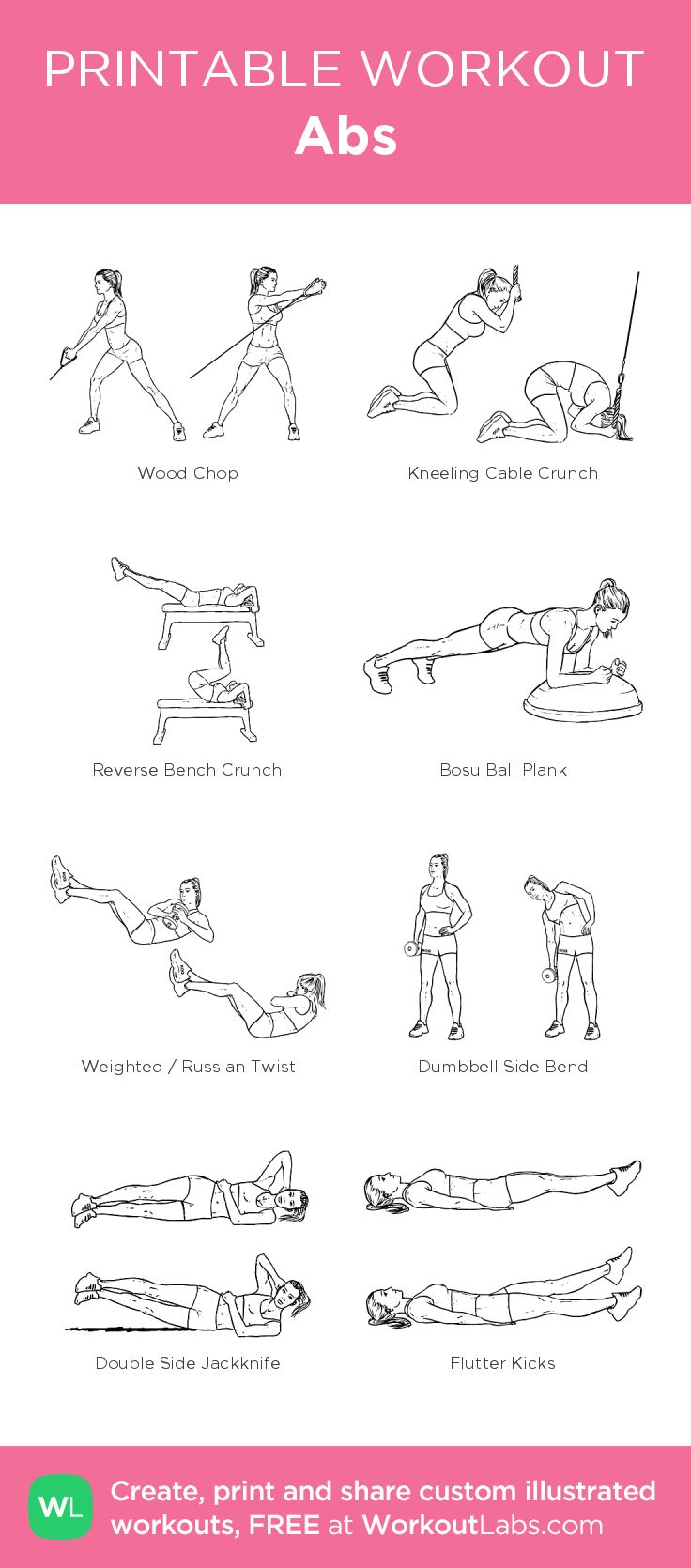170 best images about Abs on Pinterest | Core exercises ...