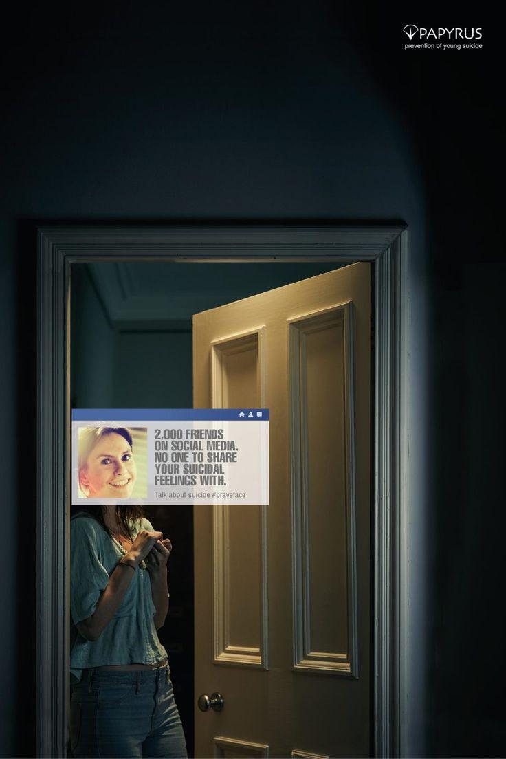 PAPYRUS социальная реклама против суицидов