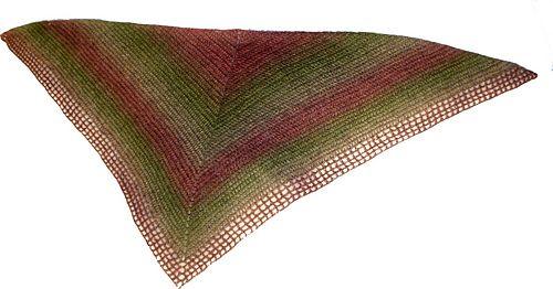 Easy shawl/Schal i enkel virkning
