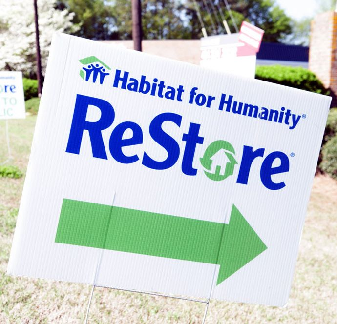 What is for sale in a HabitatforHumanity ReStore Check