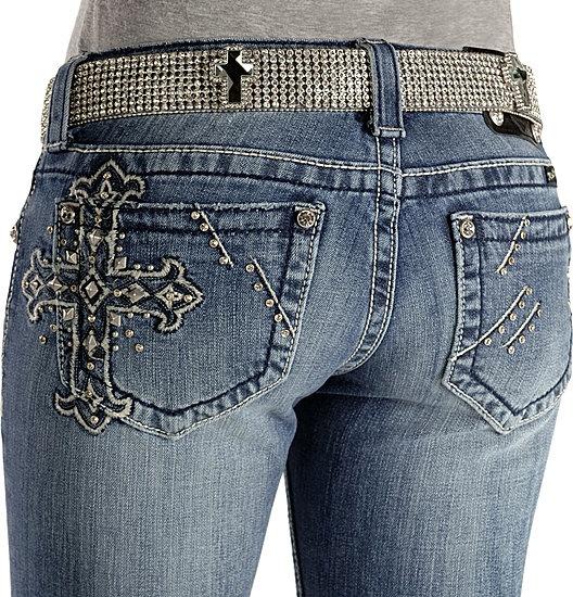 I never tire of embellished jeans
