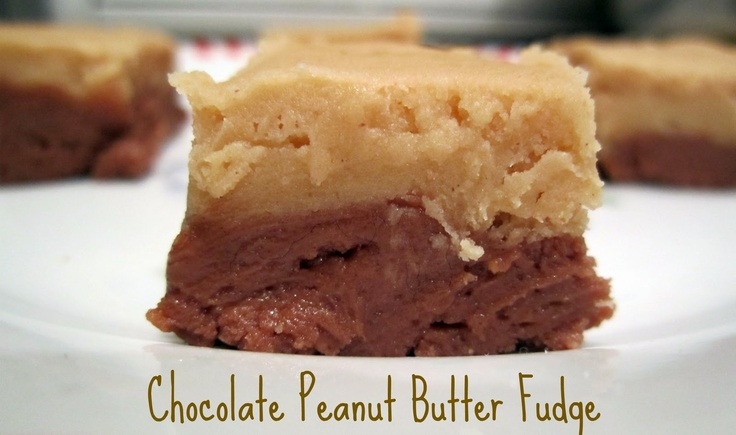 What's Cooking, Love?: Chocolate Peanut Butter Fudge