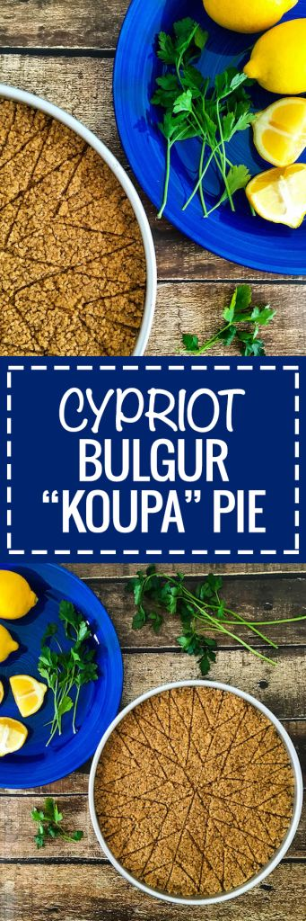 Healthier and Simpler Cypriot Koupa Pie