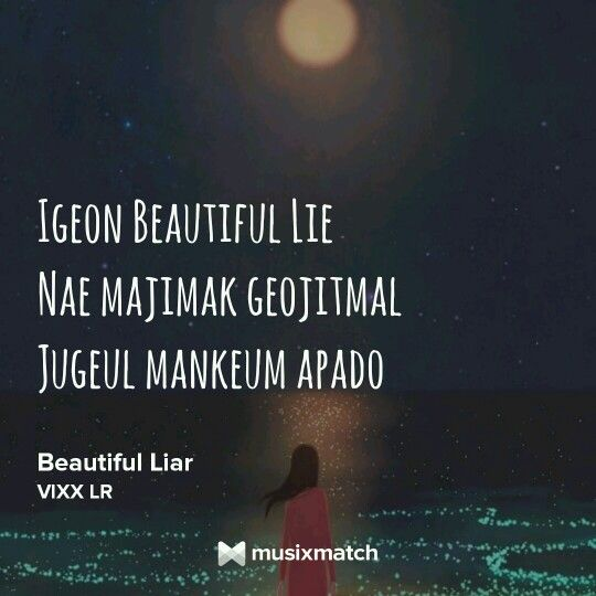 Beautiful liar by VIXX LR