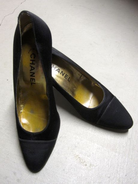 Shop my closet on @Jodie Guirey. I'm selling my Chanel Heels. Only $93.00
