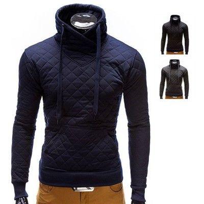 Sweatshirt in Gevoerde Optiek