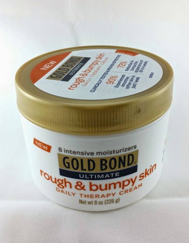 The Budget Beauty Blog: Gold Bond Ultimate Rough and Bumpy Skin Therapy Cream Review for Keratosis Pilaris