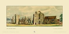 Castle Acre Priory by Sir Henry George Rushbury