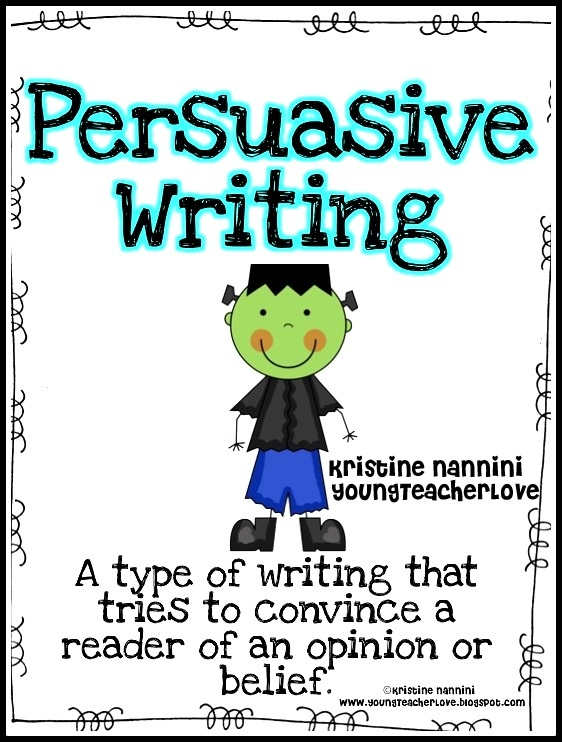 Persuasive writing for Halloween!! Super cute posters, writing prompts, planning pages, and publishing pages for a Halloween themed display!!!