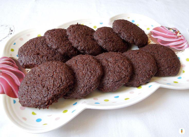 Biscotti+al+cacao+senza+burro+velocissimi
