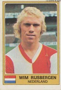 Wim Rijsbergen, geboren 18 januari 1952 in Leiden. Oud-international.