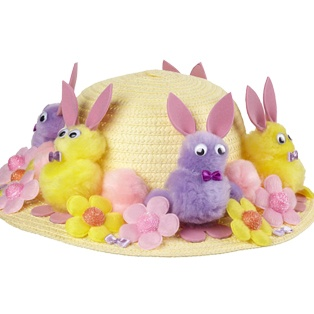 easter hat for Immy