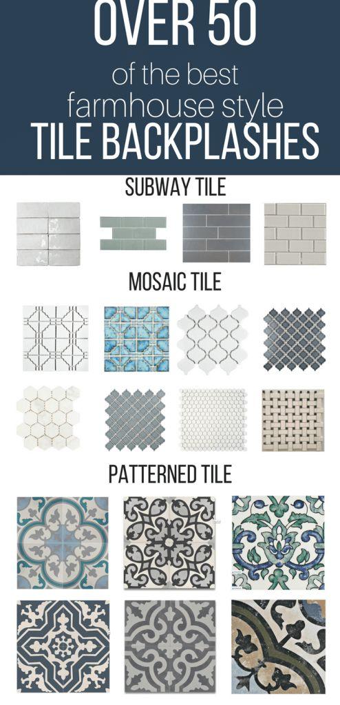 Over 50 of the Best Farmhouse Tile Backsplash Ideas