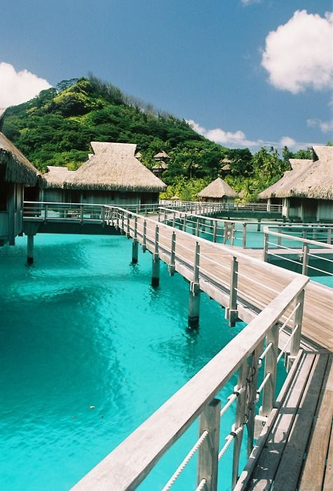 i wanna stay in those huts lol