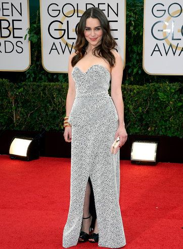 Style Diary | Kate Young's Golden Globes Look for Emilia Clarke