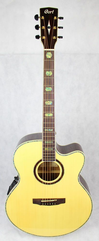 Electro Acoustic Guitar Cort CJ10X Natural