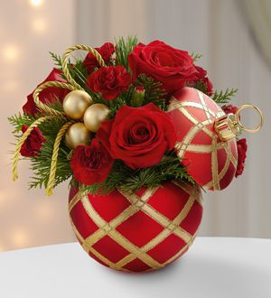 Order Christmas Flowers - Holiday Flower Arrangements Cape Coral Florida