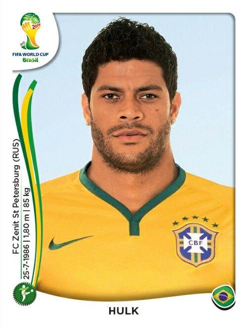 049 Hulk - Brasil - MUNDIAL BRASIL 2014