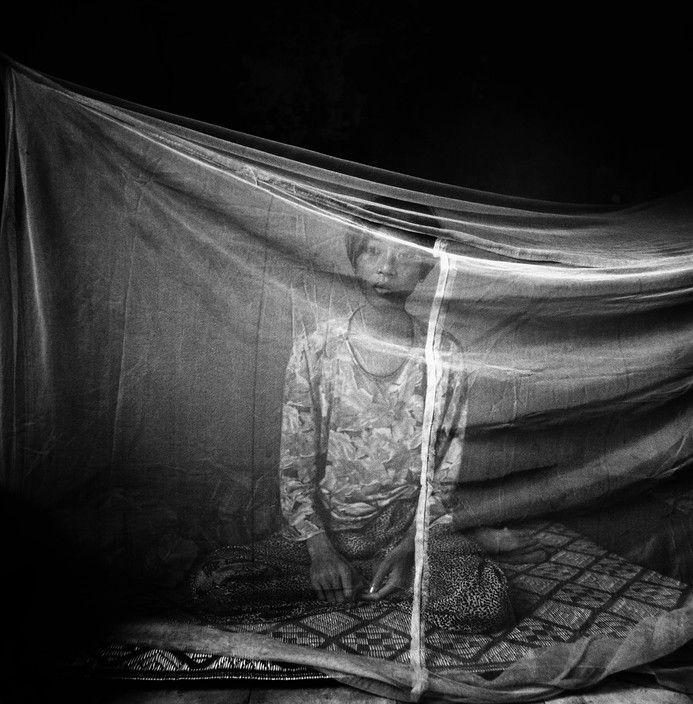 Paolo Pellegrin. CAMBODIA, Phnom Penh, 1998.Nhan, 25 year old, Vietnamese former prostitute.
