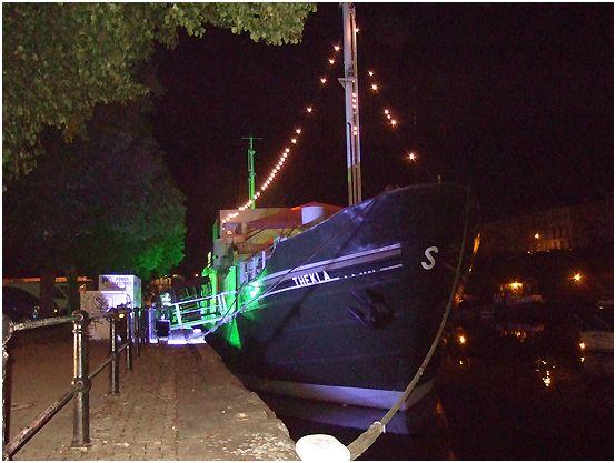 Thekla - a boat (club and gig venue)
