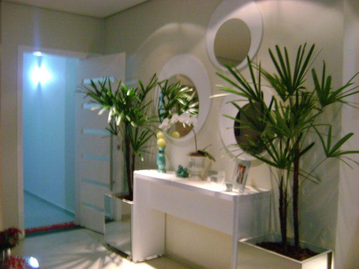 decoracao de interiores hall de entrada:Projeto Residencial- hall de entrada